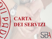 Carta dei servizi SBA