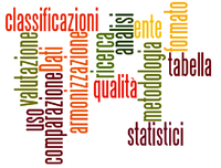 statistiche con scritte classificazioni
